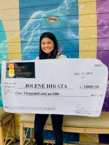 2019 Hawaii Rise Foundation Rachel Gangwes Scholarship