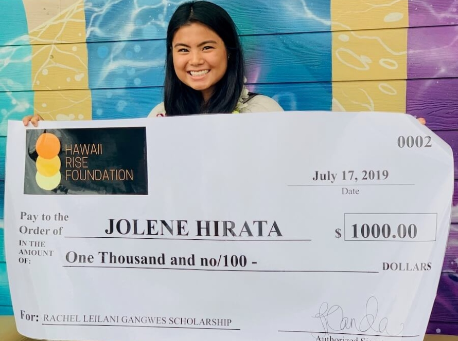 2019 Hawaii Rise Foundation Rachel Gangwes Scholarship