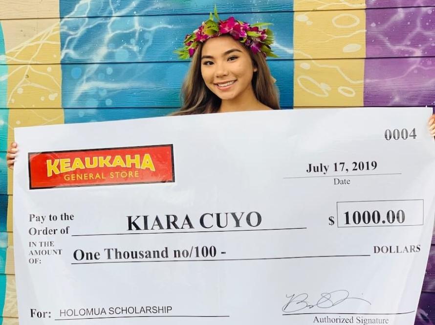 2019 Keaukaha General Store Holomua Scholarship